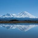 Orsono Volcano in Lake Region of Chile