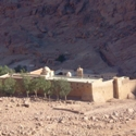 The St. Catherine's Monastery at Egypt's Mount Sinai.
