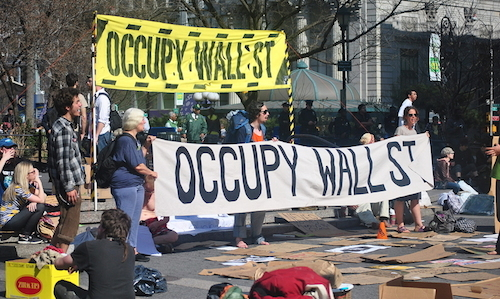 Really Great Wall Street occupy
