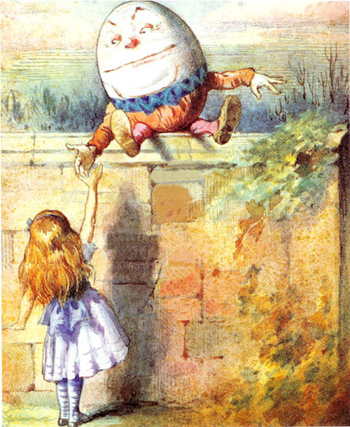 Humpty Dumpty Really great wall