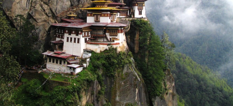 Taktshang Bhutan monastery ideal hideaway for travelers avoiding extradition.