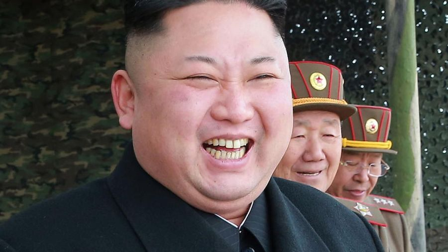 smiling Kim Jong-un travel photographers never photograph