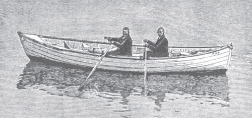 Samuelsen Harbo ocean rowing boat